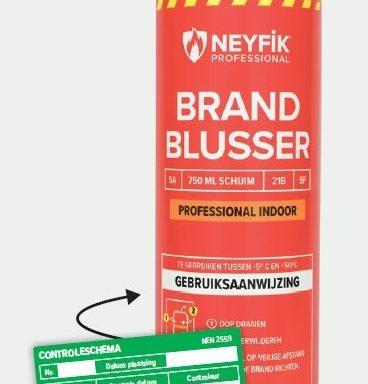 Neyfik Professional Indoor Sprayblusser